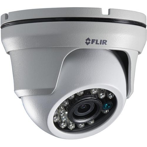 FLIR MPX 1.3 MP Outdoor Dome Camera with 3.6mm Fixed Lens C233EC
