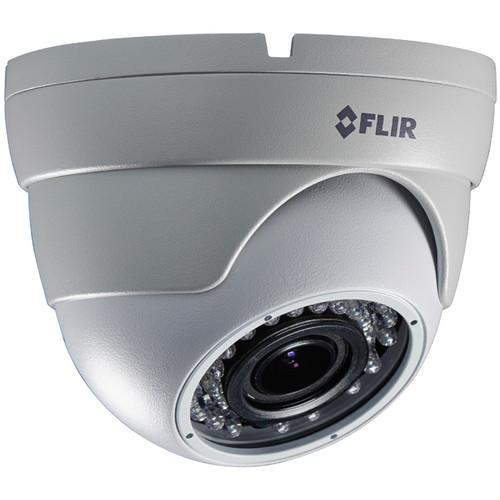 FLIR MPX 2.1 MP Outdoor Dome Camera with 2.8 to 12mm C237ED