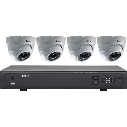 FLIR MPX 3100 Series 4-Channel DVR with 1TB HDD and 4 M31041C4