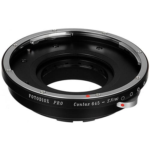 FotodioX Pro Lens Mount Adapter for Contax 645-Mount CTX645-SN