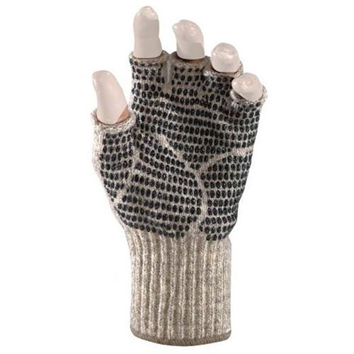 Fox River Ragg Wool Gripper Large Fingerless Gloves 9591-06120-L