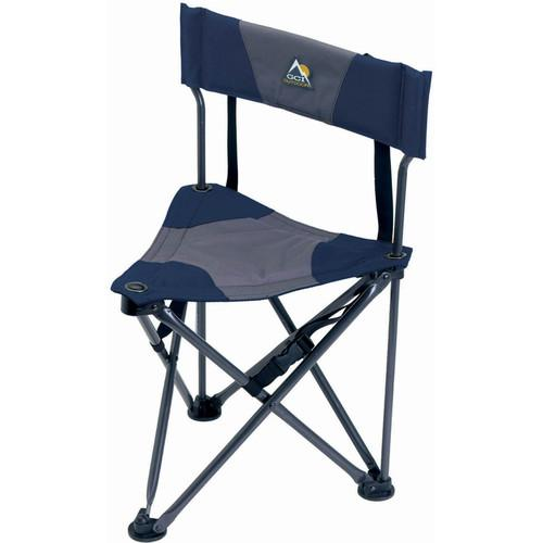 GCI Outdoor Quik-E-Seat Stool with Padded Backrest 19014