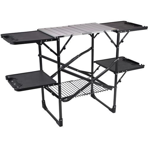GCI Outdoor SLIM-FOLD Cook Station (Black Chrome) 15026
