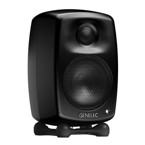 Genelec G One Two-Way Active Speaker (Single, Black) G1AMM