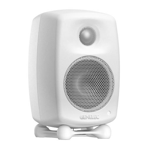 Genelec G One Two-Way Active Speaker (Single, White) G1AWM