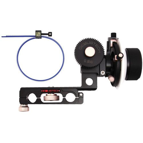 Genustech Bravo Follow Focus MK3 with 0.8 Pitch Gear G-BFFMK3KIT