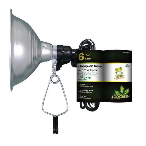 Go Green Clamp on Lamp with Reflector (8.5