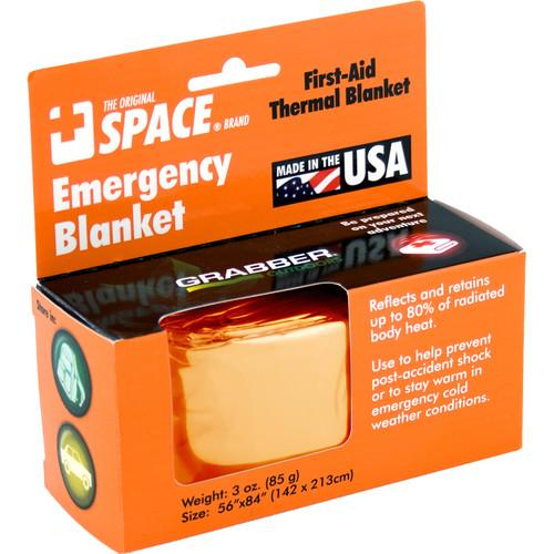 Grabber Emergency Space Blanket (Orange) 9814EBOS