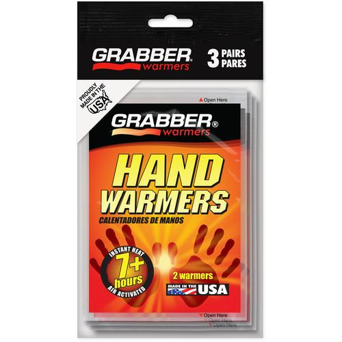 Grabber Mini Hand Warmers - Single-Use Air-Activated Heat HWES3