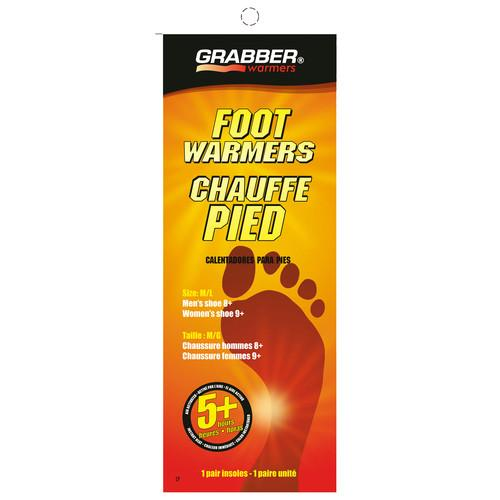 Grabber Pair of Foot Warmers - Single-Use Air-Activated FWMLES