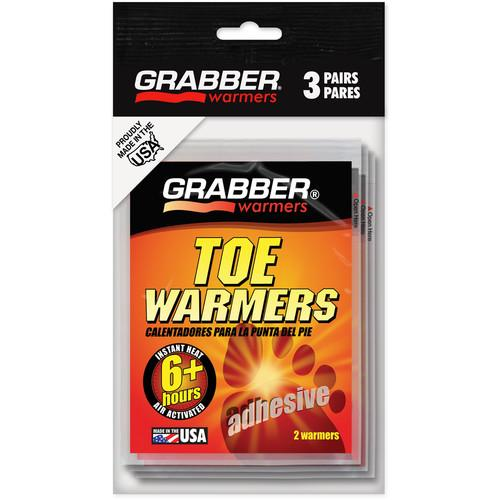Grabber Toe Warmers - Single-Use Air-Activated Heat Packs TWES3