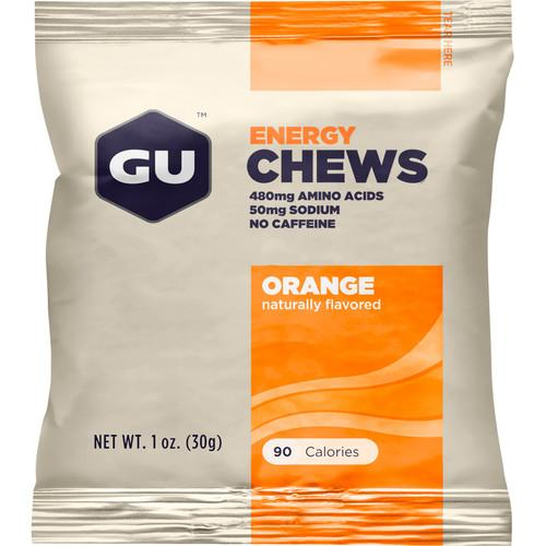 GU Energy Labs Energy Chews (24-Pack, Orange) GU-123218