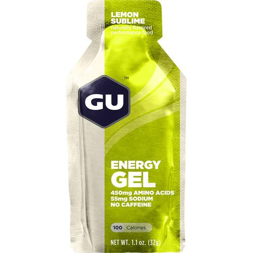 GU Energy Labs GU Energy Gel (24-Pack, Lemon Sublime) GU-123051
