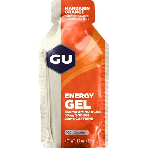 GU Energy Labs GU Energy Gel (24-Pack, Mandarin Orange)