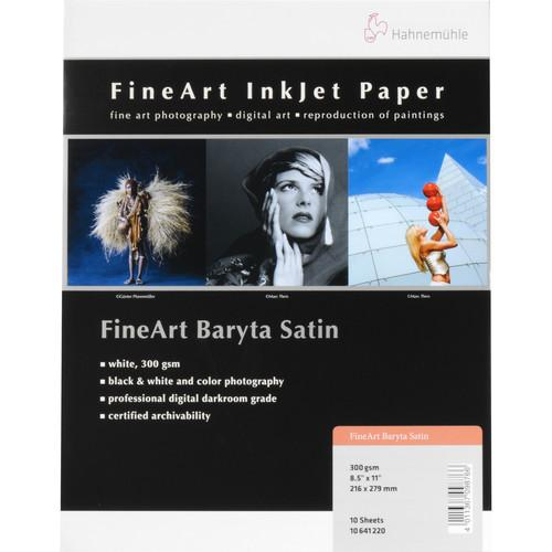 Hahnemuhle  FineArt Baryta Satin Paper 10641220