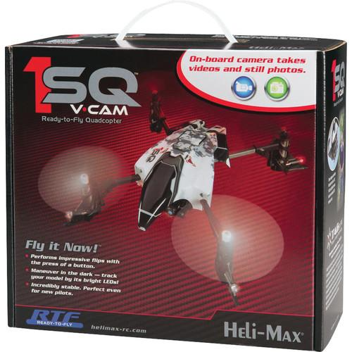 Heli Max 1SQ RTF Quadcopter with Micro Digital Camera HMXE0836