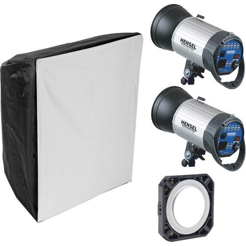 Hensel Integra 500 2-Light Kit with Chimera Softbox 7048815ENC