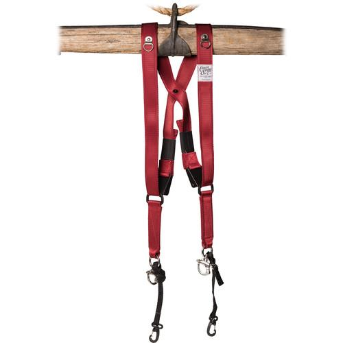 HoldFast Gear Money Maker Two-Camera Swagg Harness (Red) CS01-RD