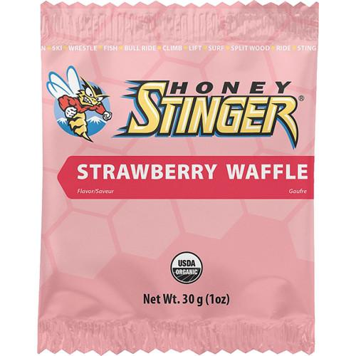 Honey Stinger Organic Waffles (Strawberry, 16-Pack) HON-74216