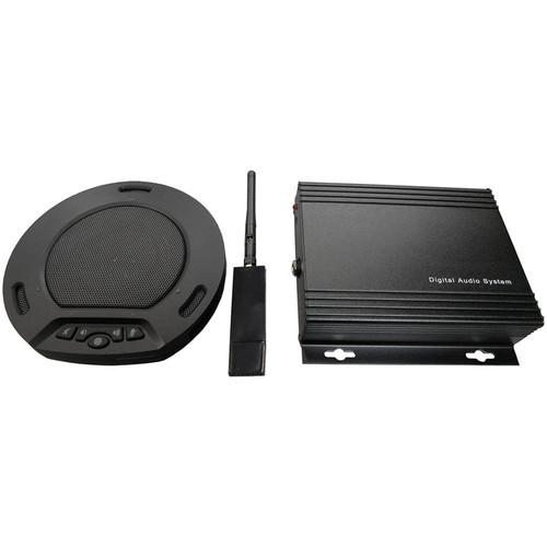 HuddleCamHD HuddlePod Air Wireless Speakerphone HP-AIR-BA-BK