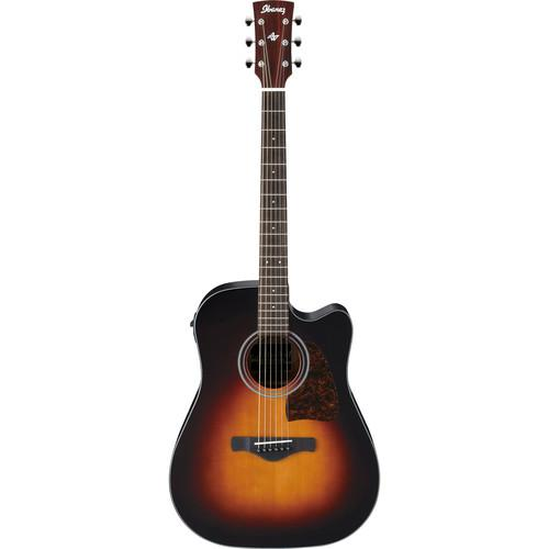 Ibanez AW400CE Artwood Series Acoustic/Electric Guitar AW400CEBS