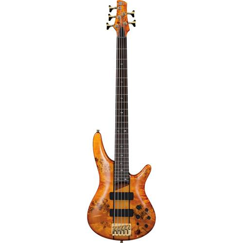 Ibanez SR Series - SR805 - 5-String Electric Bass Guitar SR805AM