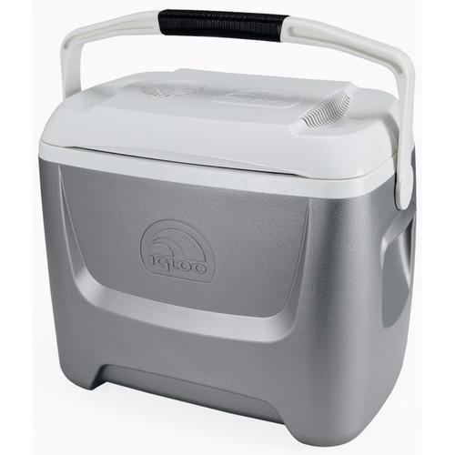 Igloo Iceless 26 Qt. Theroelectric Cooler (Silver/White) 40358