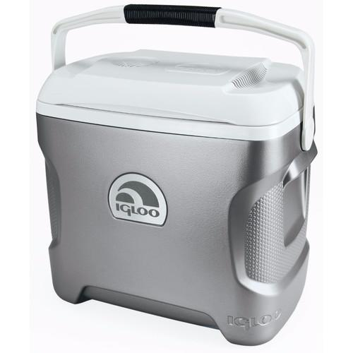 Igloo Iceless 28 Qt. Thermoelectric Cooler (Silver/White) 40369