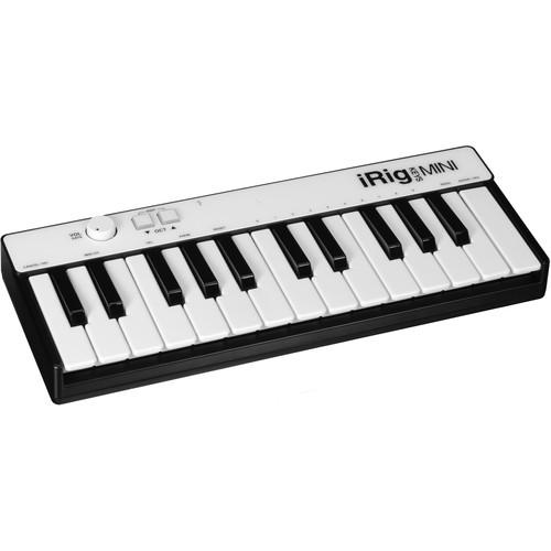IK Multimedia iRig Keys Mini MIDI Controller IP-IRIG-KEYSMINI-IN