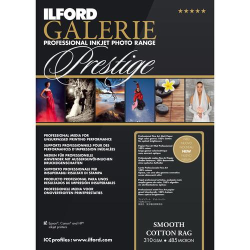 Ilford GALERIE Prestige Smooth Cotton Rag Paper 2004039