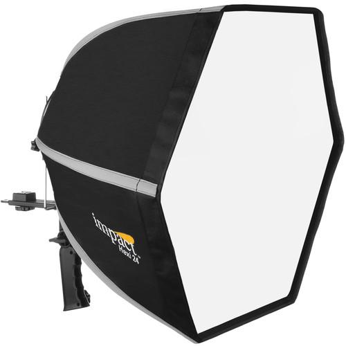Impact Hexi 24 Softbox Speedlight Solution Kit for Nikon Cameras