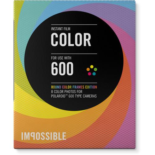 Impossible Color Instant Film for Polaroid 600 Cameras 4154