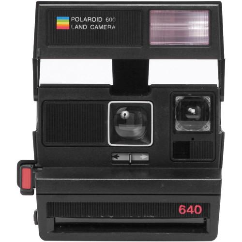 Impossible Polaroid 600 Square Instant Camera (Black) 1488
