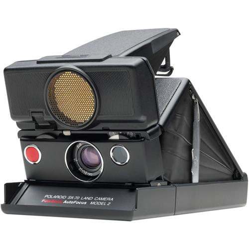 Impossible Polaroid SX-70 Sonar Instant Film Camera (Black) 1514