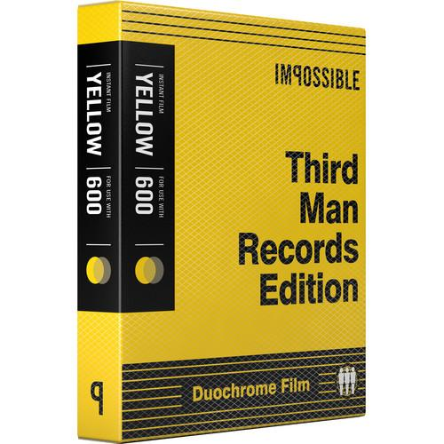 Impossible Third Man Records Black & Yellow Duochrome 4158