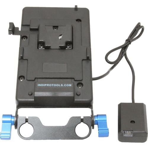 IndiPRO Tools V-Mount Plate with Sony NP-FW50 Dummy Battery