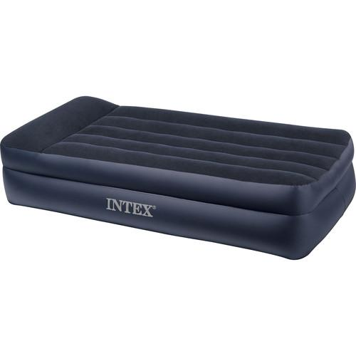 Intex Twin Pillow Rest Raised Airbed with Built-in Pump 66705E