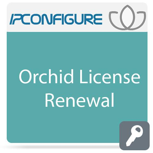 IPConfigure Orchid License Renewal for Windows & IPC-ORC-SAR