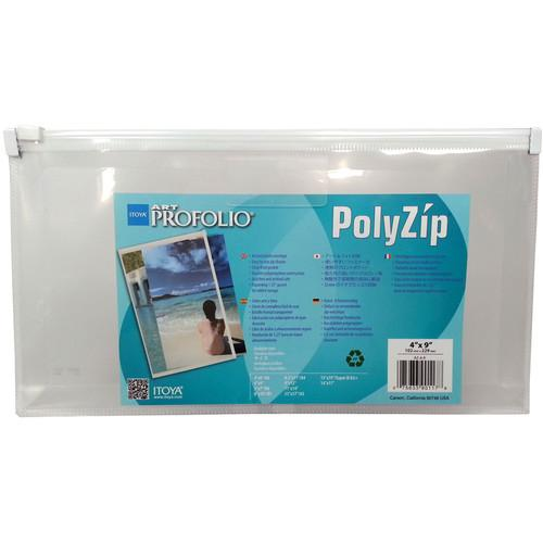 Itoya PolyZip Art and Photo Envelope (4 x 9