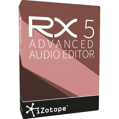 iZotope RX 5 Advanced Upgrade - Audio Restoration UGRX5AFRX1-5S