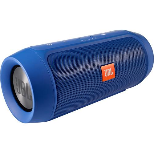 JBL Charge 2  Portable Stereo Speaker (Blue) CHARGE2PLUSBLUEAM