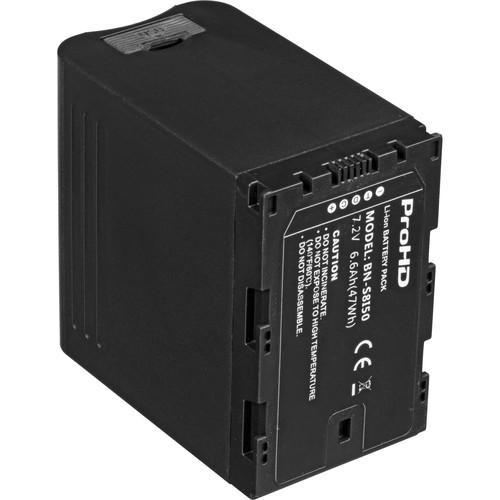 JVC BN-S8I50 7.2V/6.6Ah Lithium-Ion Battery BN-S8I50