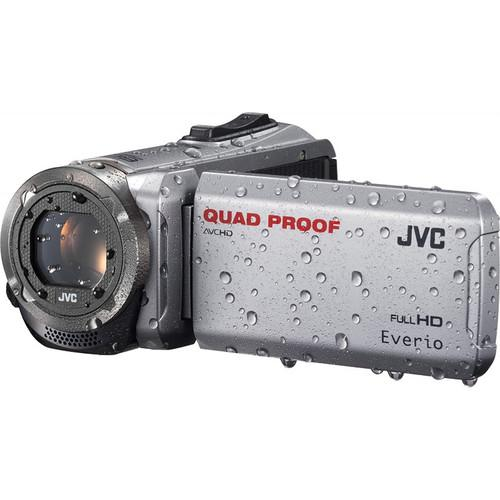 JVC GZ-R310SEU Quad Proof Camcorder (PAL, Silver) GZ-R310SEU