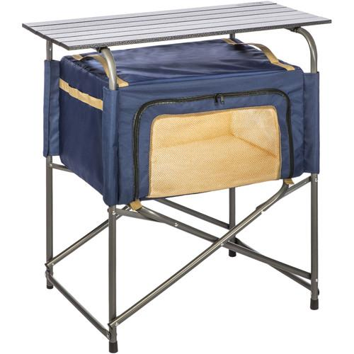 KAMP-RITE Ez Prep Table with Soft Storage Cabinet KPT171