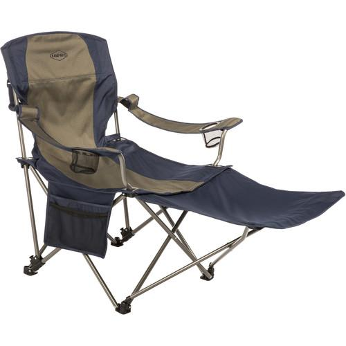 KAMP-RITE Folding Chair with Removable Foot Rest CC231
