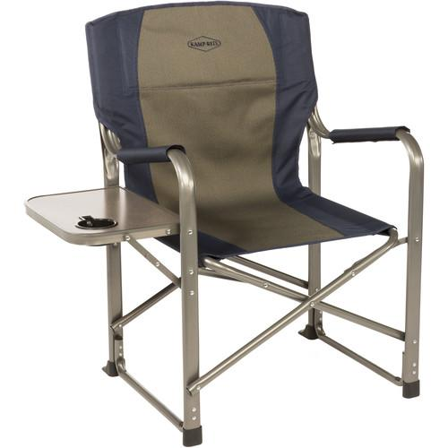KAMP-RITE Folding Director's Chair with Side Table CC105