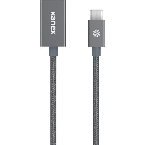 Kanex USB 3.0 Type-C Male to Type-A Female Adapter KU3CAPV1-SG