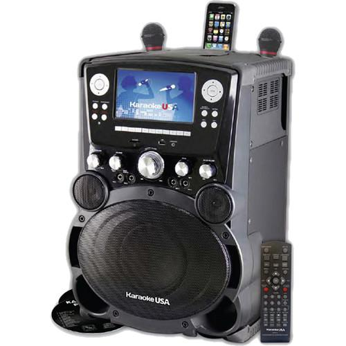 Karaoke USA GP975 Bluetooth Karaoke Player with 7