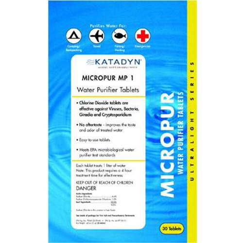 Katadyn Micropur Purification Tablets (30-Pack) 8013692