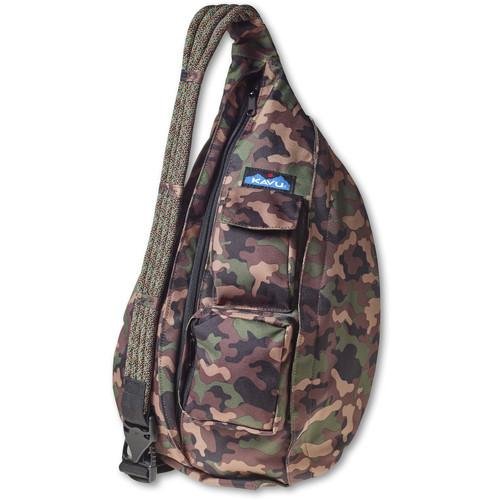 KAVU  Rope Sling Bag (Camo) 944-240